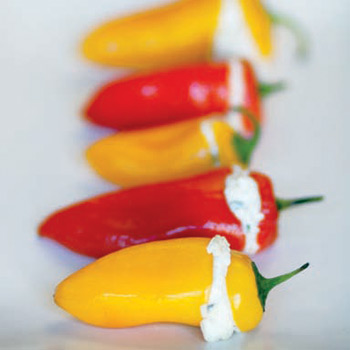 Image of Ricotta Stuffed Baby Bell Peppers