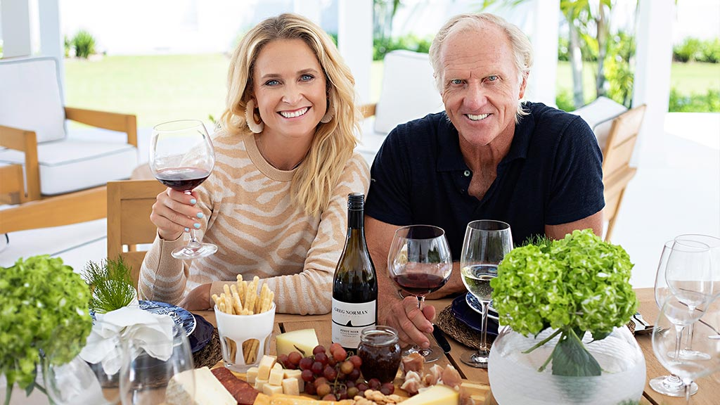 Greg Norman and Morgan-Leigh Norman